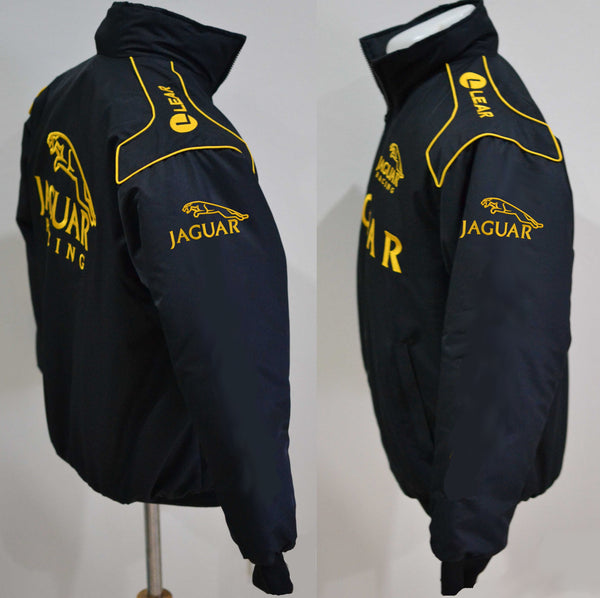 aeb0a5d2bd8bfd Jaguar-Racing - Jacke // Jaguar - Jacket // schwarz-gold – Pro Fashion