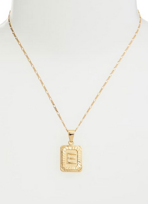 Bracha Initial 14K Gold Filled Plated Necklace
