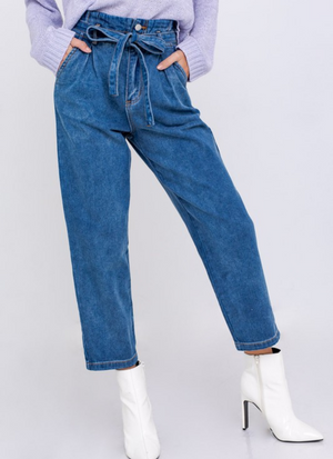 Blues Baby Paperbag Pants