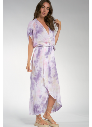 On A Whim Purple Multi Coverup