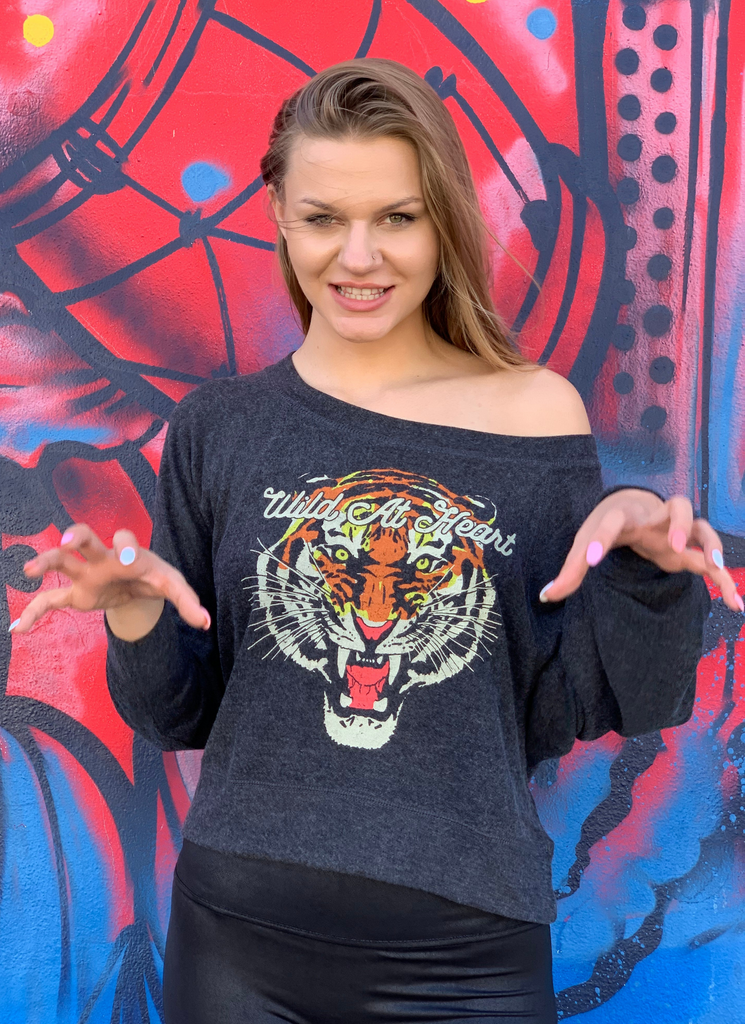 Wild At Heart Pullover