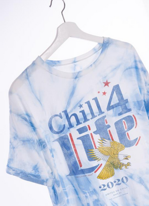Chill 4 Life Cropped Tee