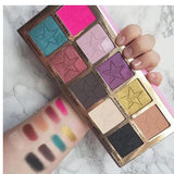 10 Colors Eyeshadow / Eyeshadow Palette Eye / Daily / Cosmetic Matte / Shimmer / Kits / Easy to Carry / Glitter Shine / Multi-tool / smoky Portable Comfortable Daily Makeup / Halloween Makeup / Party