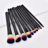 10-pack-makeup-brushes-professional-make-up-nylon-fiber-comfy-wooden-bamboo