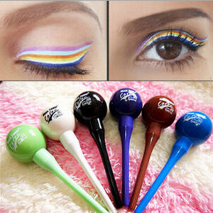 1Pcs Color Liquid Eyeliner Lollipop Eyeliner Purple Blue Green Brown White Coffee