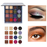 IMAGIC Charming Eyeshadow 16 Color Palette Make up Palette Matte Shimmer Pigmented Eye Shadow Powder