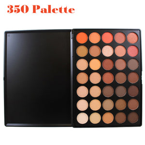 Professional 35 Color Eyeshadow Palette Earth Warm Color Shimmer Matte Eye Shadow Beauty Makeup Set