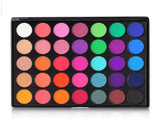 FiveBull  Eyeshadow Palette, 35 Bright Colors Matte Shimmer Eyeshadow Makeup Pallete - Long lasting and High Pigment Silky Powder Eye Shadow Cosmetics Set #35E