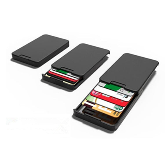 Zenlet Arrivals The Ingenious Wallet BLACK The MINIMALIST & INGENIOUS WALLET Card Horder