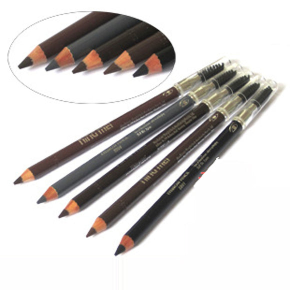 Eyebrow Pencil 1 pcs Makeup Eye Dry Combination Oily Waterproof Long Lasting Natural 5 Colors Cosmetic Grooming Supplies