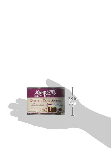 Simpson's Spotted Dick Sponge Pudding, 10.2 Ounce - White Elephant Gift