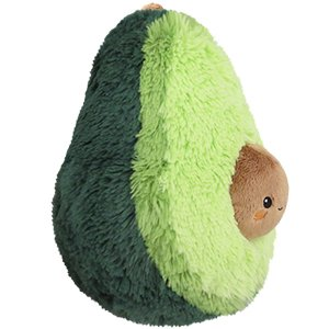 "Squishable / Mini Comfort Food Avocado Plush 7"" - White Elephant Gift"