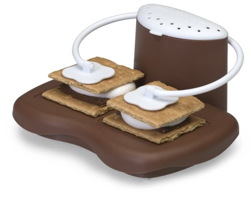 Prep Solutions by Progressive Microwave S'mores Maker, PS-68BR, Perfect Gift Idea, Indoor Smores Maker - White Elephant Gift