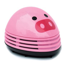 Load image into Gallery viewer, niceeshop(TM) Electric Desktop Vacuum Cleaner Mini Dust Cleaner Pink Pig Prints Design - White Elephant Gift