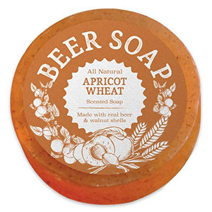 Beer Soap (Apricot Wheat) - White Elephant Gift
