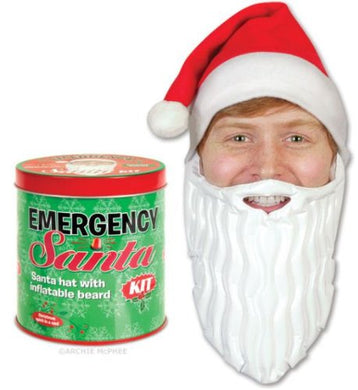 Accoutrements Emergency Santa Kit - White Elephant Gift
