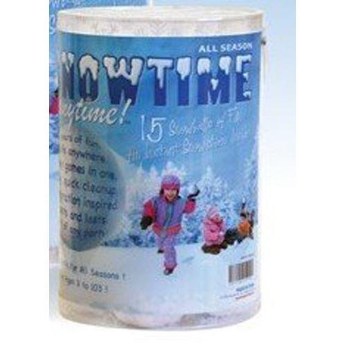 15 Pack Indoor Snowball Fight - Snowtime Anytime - Safe, No Mess, No Slush - White Elephant Gift
