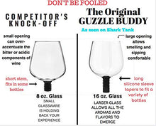 Load image into Gallery viewer, Guzzle Buddy 2GO Unbreakable - Tritan Plastic Wine Bottle Glass (clear) - White Elephant Gift