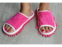 Load image into Gallery viewer, Evriholder Genie Microfiber Women's Slippers, 6-9 Pink - White Elephant Gift