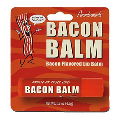 Accoutrements Bacon Lip Balm - White Elephant Gift