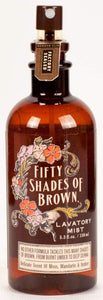 Blue Q Fifty Shades of Brown Lavatory Mist [Tools & Home Improvement] [Tools & Home Improvement] - White Elephant Gift