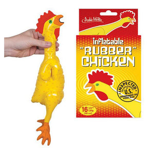 "16-1/2"" Emergency Inflatable Chicken - White Elephant Gift"