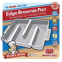 Load image into Gallery viewer, Baker's Edge Nonstick Edge Brownie Pan - White Elephant Gift