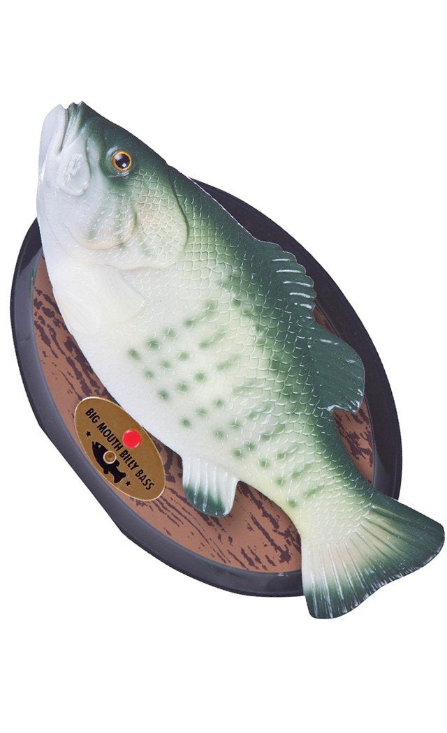 Gemmy Inflateables Holiday - Big Mouth Billy Bass - White Elephant Gift
