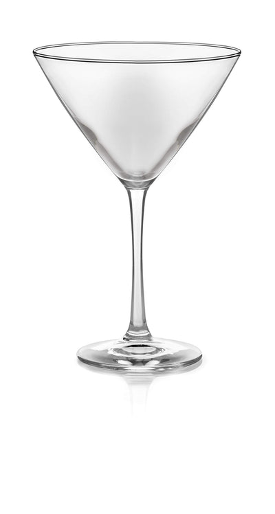 Libbey Vina Martini Glasses, Set of 6 - White Elephant Gift