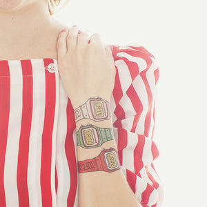 Tattly Temporary Tattoos Watch Set - White Elephant Gift