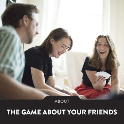 The Voting Game Adult Card Game - The Party Game About Your Friends [200 Cards] - White Elephant Gift