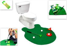Load image into Gallery viewer, Barwench Games Toilet Fishing, Fishing Practice in The Bathroom with This Potty Pole (Golf)