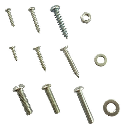 Accessbuy 347pc Home Nut, Bolt, Screw & Washer Assortment - All Phillips Head! - White Elephant Gift