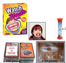 Load image into Gallery viewer, Watch Ya' Mouth Original Mouthpiece Game - The Hilarious Family and Party Game - White Elephant Gift