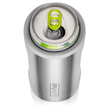 Load image into Gallery viewer, BrüMate Hopsulator Slim Double-walled Stainless Steel Insulated Can Cooler for 12 Oz Slim Cans (Matte Gray)