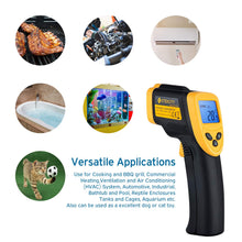Load image into Gallery viewer, Etekcity Lasergrip 774 Non-contact Digital Laser Infrared Thermometer Temperature Gun -58℉~ 716℉ (-50℃ ~ 380℃), Yellow and Black - White Elephant Gift