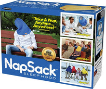 "Load image into Gallery viewer, Prank Pack ""Nap Sack"" - Wrap Your Real Gift in a Prank Funny Gag Joke Present Box - by Prank-O - The Original Prank Gift Box."