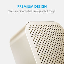 Load image into Gallery viewer, Anker SoundCore Nano Bluetooth Speaker with Big Sound, Super-Portable Wireless Speaker with Built-in Mic for iPhone 7, iPad, Samsung, Nexus, HTC, Laptops and More - Gold - White Elephant Gift