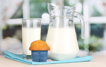 Load image into Gallery viewer, Fred MUFFIN TOPS Denim-Style Baking Cups, Set of 4 - White Elephant Gift