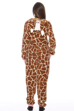 Load image into Gallery viewer, L6401-L-Giraffe #FollowMe Adult Onesie Pajamas