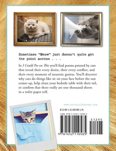 I Could Pee on This: And Other Poems by Cats - White Elephant Gift