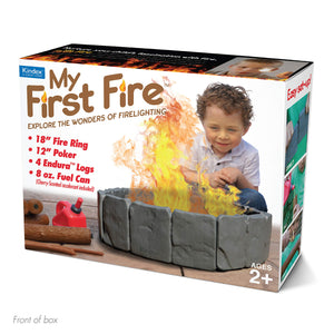 "Prank Pack ""My First Fire"" - Wrap Your Real Gift in a Prank Funny Gag Joke Gift Box - by Prank-O - The Original Prank Gift Box 