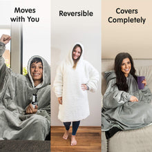 Load image into Gallery viewer, THE COMFY | The Original Oversized Sherpa Blanket Sweatshirt, Seen On Shark Tank, One Size Fits All