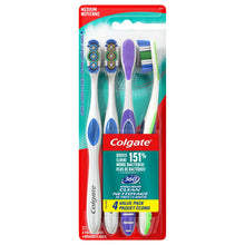 Load image into Gallery viewer, Colgate 360 Adult Toothbrush, Medium (4 Count) - White Elephant Gift