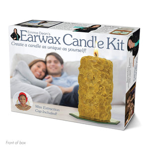 "Prank Pack ""Earwax Candle Kit"" - Wrap Your Real Gift in a Prank Funny Gag Joke Gift Box - by Prank-O - The Original Prank Gift Box 