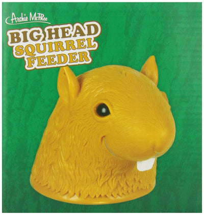 Accoutrements Big Head Squirrel Feeder - White Elephant Gift