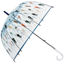 Load image into Gallery viewer, Raining Men Clear Bubble Dome Umbrella - Perfect White Elephant Gift, or Birthday Gift - White Elephant Gift