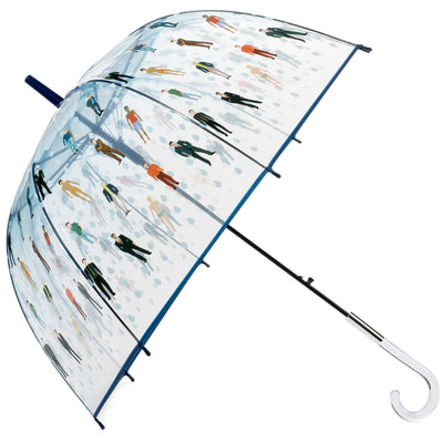 Raining Men Clear Bubble Dome Umbrella - Perfect White Elephant Gift, or Birthday Gift - White Elephant Gift