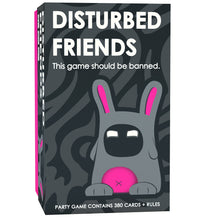 Load image into Gallery viewer, Disturbed Friends - This party game should be banned. - White Elephant Gift