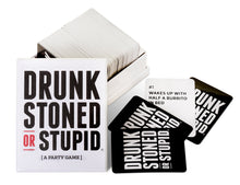 Load image into Gallery viewer, DRUNK STONED OR STUPID [A Party Game] - White Elephant Gift